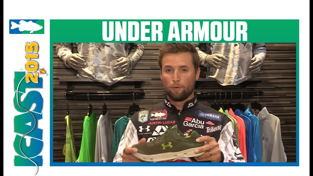 ef87b7aed0b6 Under Armour Kilchis Deck Shoes with Tackle Warehouse Pro Justin Lucas
