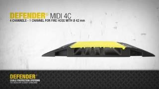 DEFENDER MIDI 4C - Cable protection system
