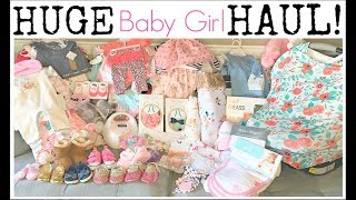 Huge Baby Girl Haul | Newborn To 12 Months