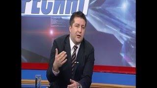 Емисија Пресинг на ТВ Алфа Зоран Иванов и Саше Ивановски   Политико