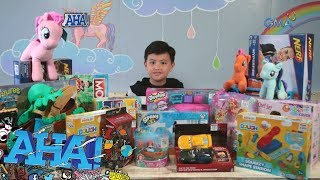 AHA!: Unboxing Christmas toys with Alonzo Muhlach