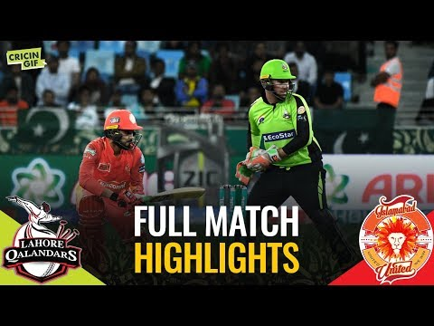 PSL 2019 Match 1: Lahore Qalandars vs Islamabad United | Full Match Highlights