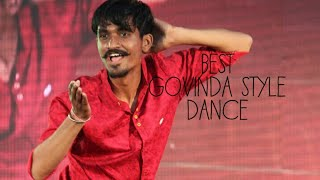 Video Best Govinda style  Dance download MP3, 3GP, MP4, WEBM, AVI, FLV Juli 2018