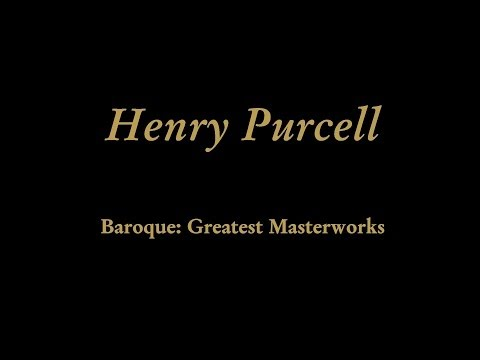 "Henry Purcell - Act III, """"What Power art thou, who from below..."""" (""""Cold Song"""")"