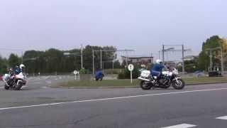 第3回兵庫県警察 白バイ安全運転競技大会 ひったくり犯人追跡演技 2013年11月02日