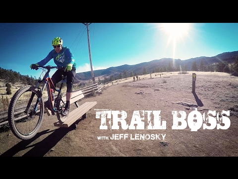 Trail Boss:  Mountain Biking Bitterbrush Trail Lyons, CO