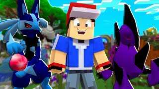 Shadow Lucario Is OP - Minecraft Shadow Pixelmon Island SMP - Pixelmon Mod #5 | JeromeASF