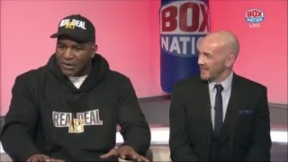 Evander Holyfield answers the BoxNation viewers questions!