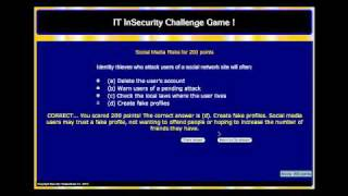 Security Trivia Game for Business - I need a good name for this...