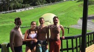 Zorb, Nowa Zelandia - Trampki w Podróży #14