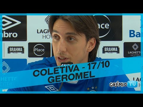 [COLETIVA] Pedro Geromel - 17/10 l GrêmioTV
