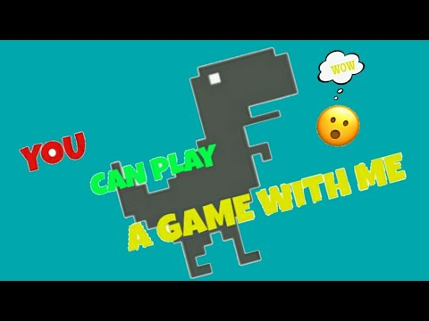 No internet connection DINO game - YouTube