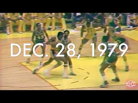 The first time Magic Johnson and Larry Bird played each other in the NBA | ESPN Archives