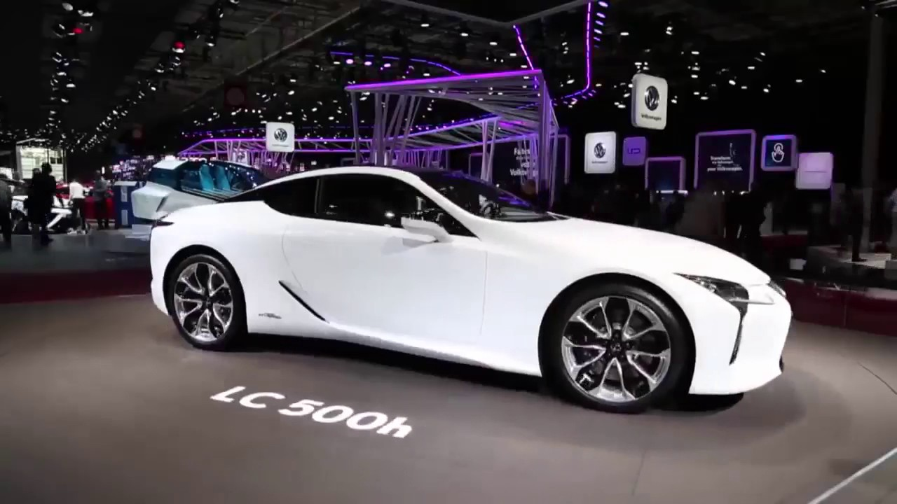 2018 Lexus Lc 500h Indepth Interior Exterior Youtube