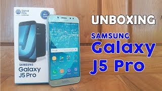 Unboxing Samsung Galaxy J5 Pro ( Blue Silver )  - Indonesia
