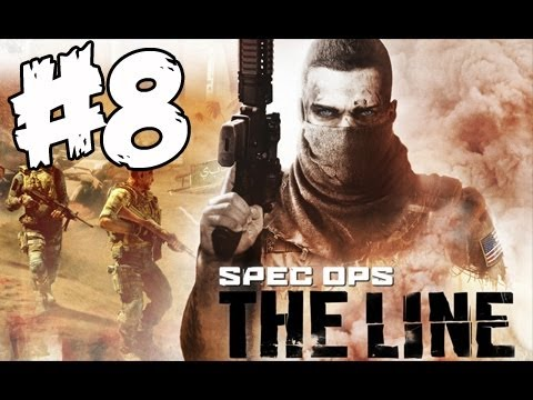 Let's Play Spec Ops The Line серия 8 - Битва(Ветеран)