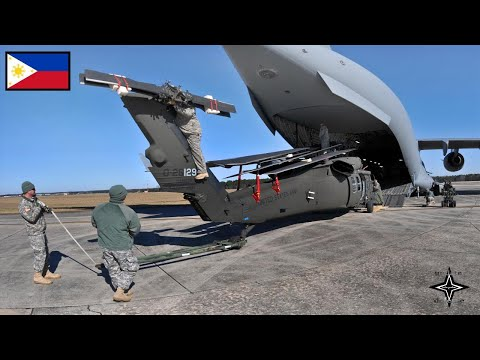 Great, Russian aircraft landed in Davao (Philippines), giving 3 US helicopters