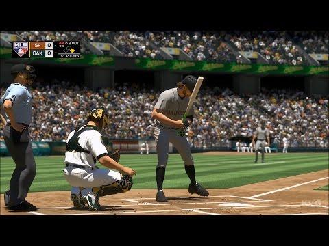 MLB The Show 17 - San Francisco Giants vs Oakland Athletics | Gameplay (PS4 Pro HD) [1080p60FPS]