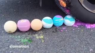 Crushing Crunchy and Soft Things by Car ! - toys, soaps and lot more! - OpenAir Top Videos