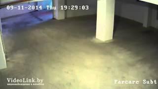 Пример записи  IP камеры видеонаблюдения HIKVISION DS 2CD2112 I паркинг(, 2015-12-09T08:01:21.000Z)
