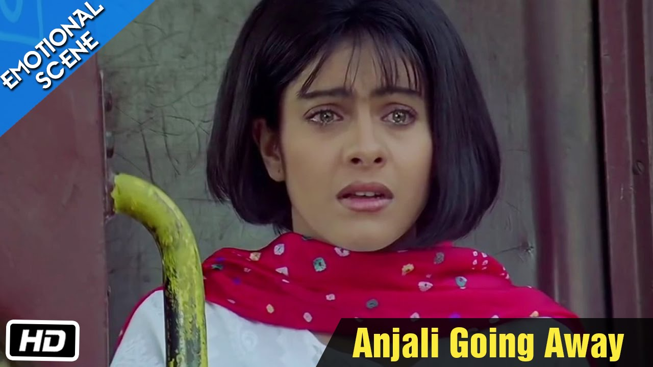 Anjali Going Away Emotional Scene Kuch Kuch Hota Hai Shahrukh