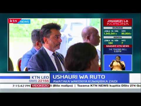 Naibu wa Rais William Ruto azungumza na nchi ya Kenya