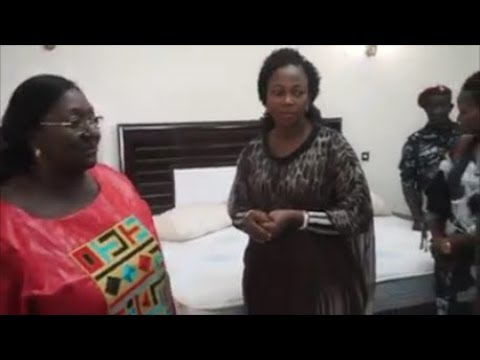Sierra Leone Presidential Lodge handed over to Fatima Bio by Sia Koroma