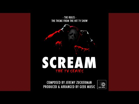Scream The TV Series: The Rules