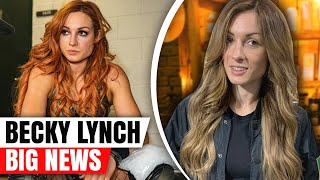 BECKY IS BACK! Becky Lynch Making HUGE Special Appearance & Her New Look! - WWE