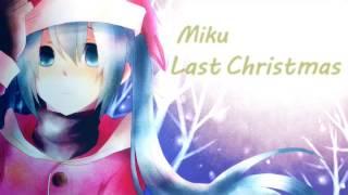 初音ミク(Hatsune Miku)の歌うWham!(ワム!)のLast Christmas(ラス...