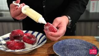 Sarie Tv: Só Vul Jy Red Velvet Doughnuts