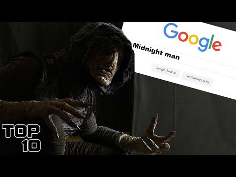Top 10 Scary Google Searches
