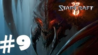 StarCraft 2 Heart of the Swarm Campaign Walkthrough Part 9 Gameplay Review Lets Play HD Hard PC