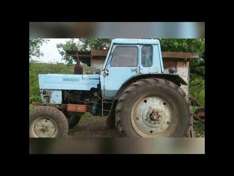 Самодельный ручник на трактор