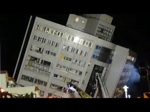 Deadly earthquake hits Taiwan