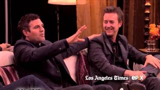 Mark Ruffalo And Edward Norton Discuss Working With David Fincher