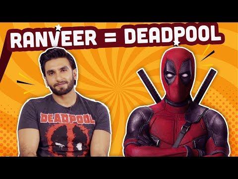 Ranveer Singh reveals his  Indian superhero name and superpower | Deadpool 2 | Bollywood | Pinkvilla thumbnail