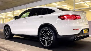 2020 Mercedes GLC 43 AMG Coupe - Night Review Drive Interior Sound Exterior Infotainment
