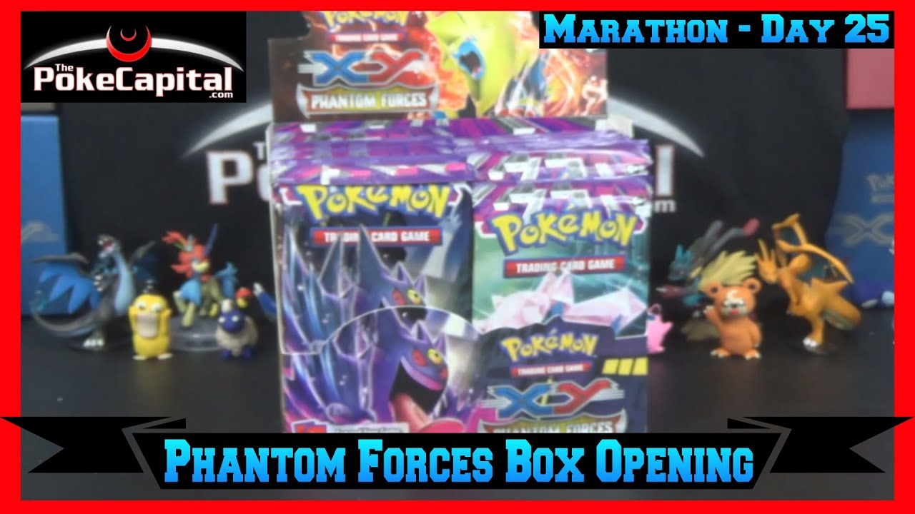 Booster box opening marathon xy phantom forces box day 25 youtube