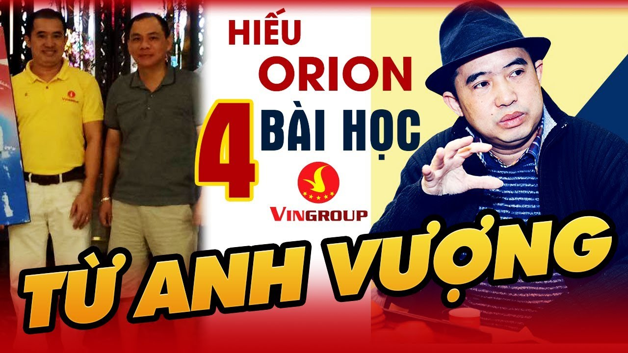 Hiếu Orion Và Phạm Nhật Vượng | 4 Bài Học Từ Phạm Nhật Vượng Cho Người Khởi Nghiệp - YouTube
