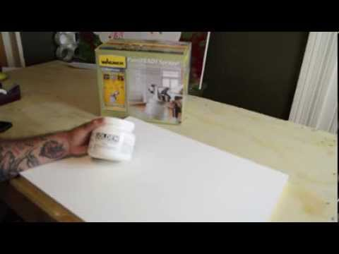How to quickly Gesso canvas and board by Ian Robert McKown