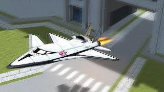 KSP: Flying under BOTH R&D Bridges CHALLENGE!