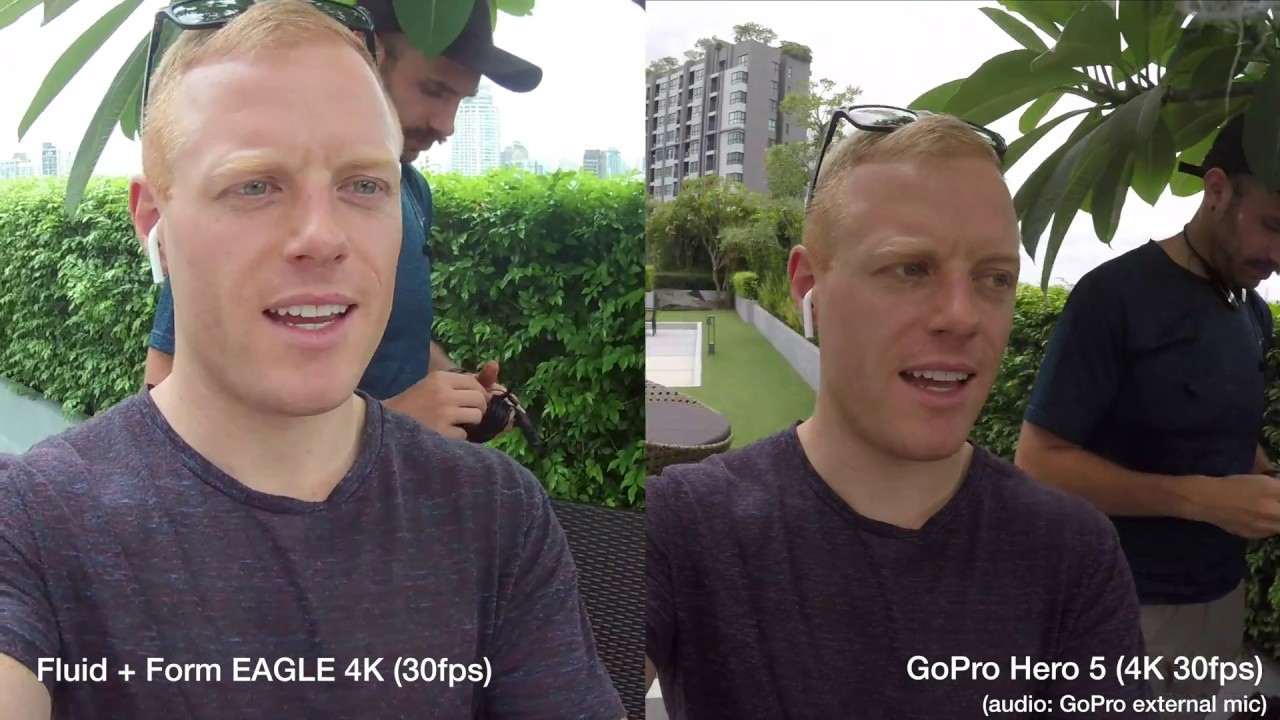 $30 vs $300 GoPro  – 4K and Audio Test (Hero 5 vs Eagle 4K) (Cheap Action Camera Review)