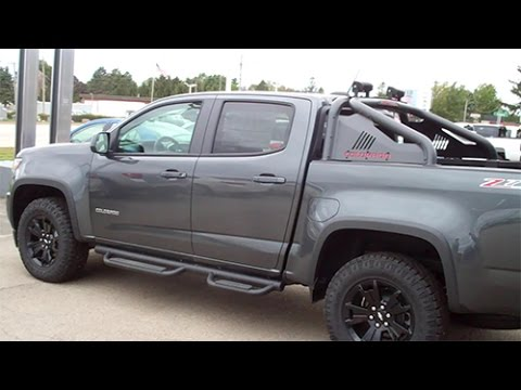 2016 Chevy Colorado Z71 Trail Boss - YouTube