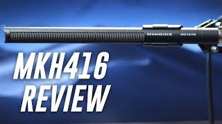 Sennheiser MKH-416 Short Shotgun Mic Review / Test
