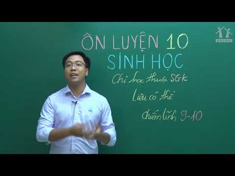 Giới thiệu khóa Học Tốt 10 - 2021 - Môn Sinh học - Thầy Đinh Đức Hiền
