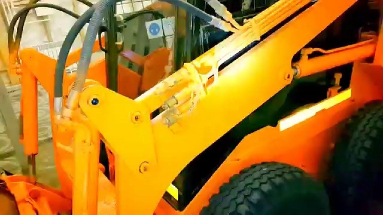 Экскаваторное оборудование Delta MZ600 для мини-погрузчиков - YouTube