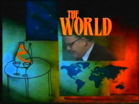 The World Tonight With Clive Robertson Nine Network 1992