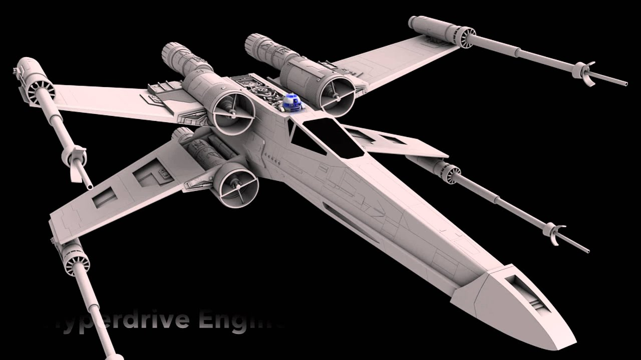 t 65 x wing starfighter youtube. Black Bedroom Furniture Sets. Home Design Ideas