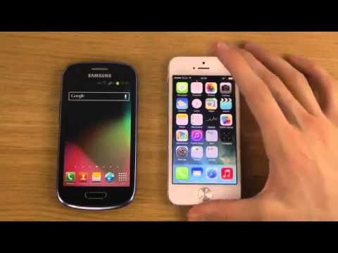Samsung Galaxy S3 Mini Vs Iphone 5